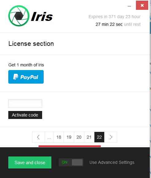 iris desktop software 2