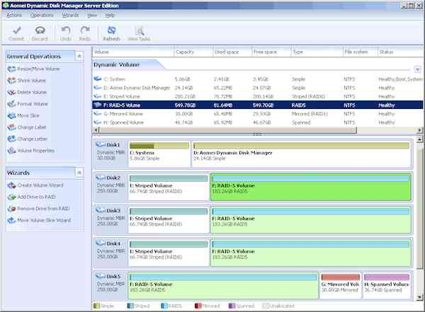 Dynamic Disk Manager Pro