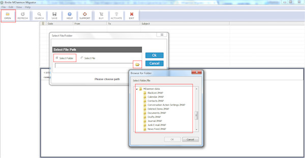 How to Migrate MDaemon database to PST Outlook/Exchange
