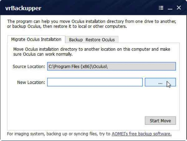 how to move programs from c drive to another drive