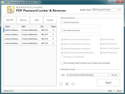 PDF Password Locker and Remover 2
