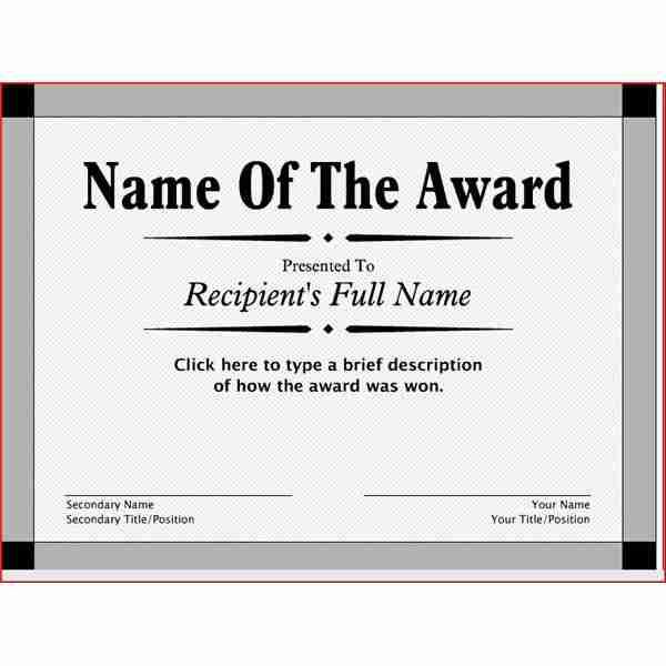 ways to make your own printable certificate techtiplib com